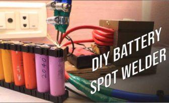 Battery Spot Welder using Microwave Transformer | DIY