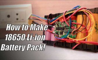 How to make Li-ion Battery Pack | 18650