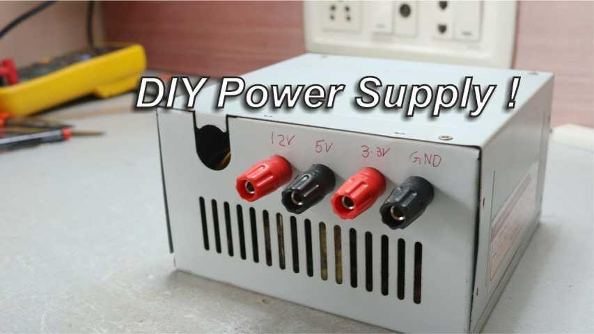 DIY Power Supply using ATX PSU