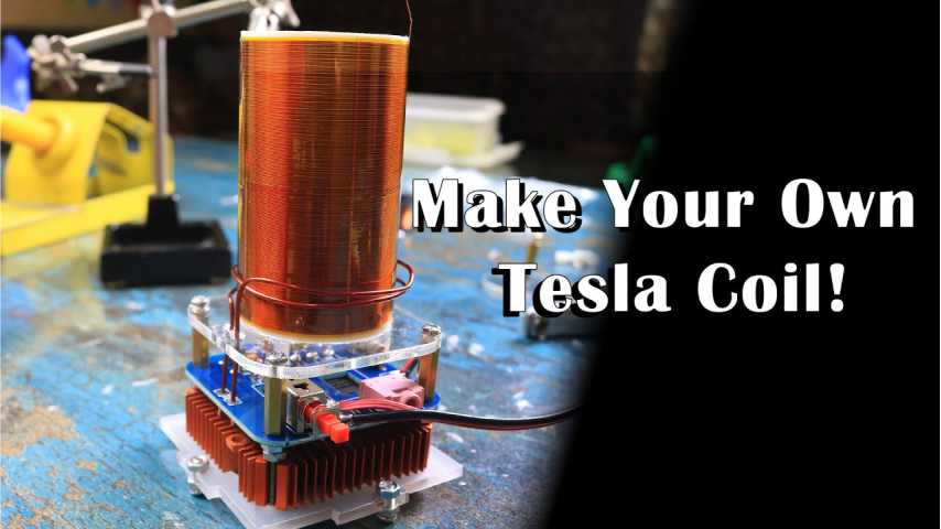 Read more about the article How to make a Tesla Coil (DIY)