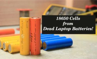 How to get 18650 Cells from Dead Laptop Batteries