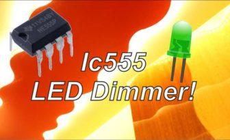 LED Dimmer using IC 555 | DIY