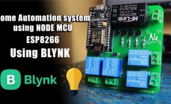 Home Automation using NodeMCU | ESP8266 | Blynk