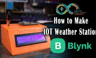 DIY IOT weather station | Arduino | Blynk