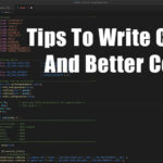 7 Tips To Write Clean And Better Code & Firmware
